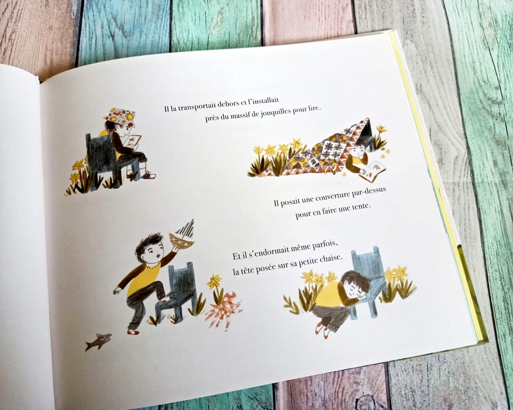 La Petite Chaise Bleue – Liyah.fr – Livre enfant  Manga Shojo