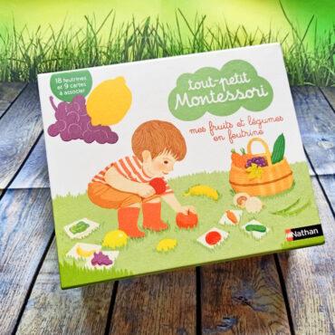 Tout Petit Montessori : Mes Fruits Et Légumes En Feutrine