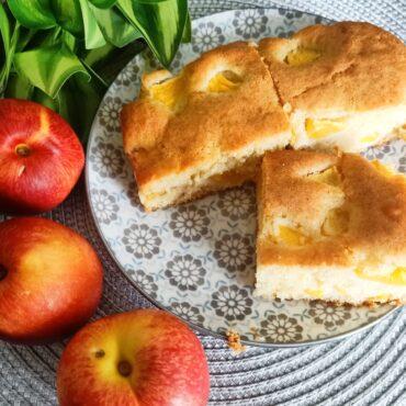 Recette : Gâteau Aux Nectarines