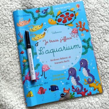 Je Trace, J'efface : L'aquarium